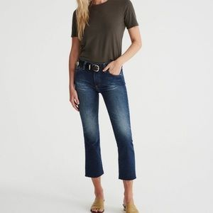 AG | BRAND NEW | High rise flare crop jean